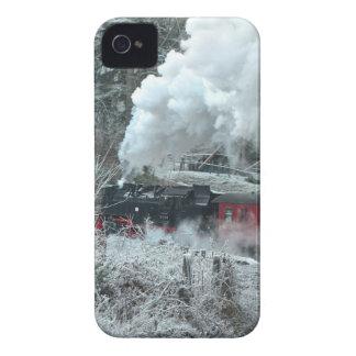Christmas steam locomotive Case-Mate iPhone 4 case