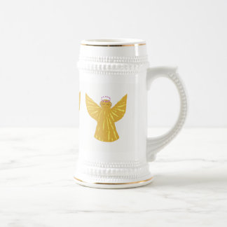 Christmas Stein Mugs Angels Custom