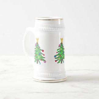 Christmas Stein Mugs Christmas Tree Custom