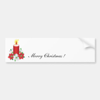 christmas sticker bumper sticker