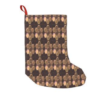 "Christmas Stocking 9"" x 16"" Santa Made in USA"