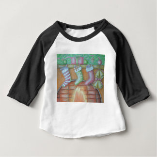 Christmas stocking baby T-Shirt