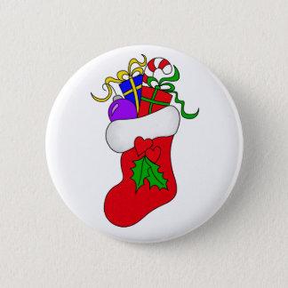 Christmas Stocking Button
