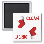 Christmas Stocking Dishwasher Magnet