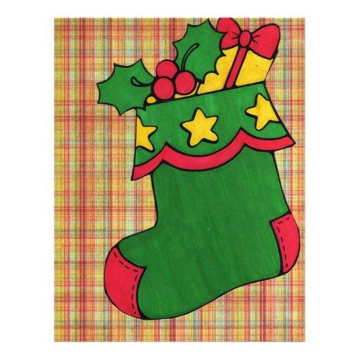 Christmas Stocking Flyer Design