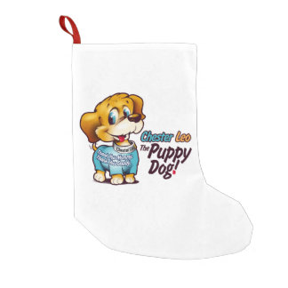 Christmas Stocking From Chester Leo: The Puppy Dog