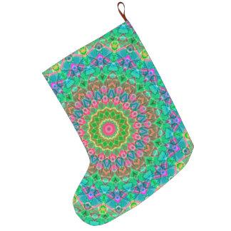 Christmas Stocking Geometric Mandala G18