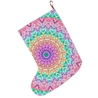 Christmas Stocking Mandala Mehndi Style G379