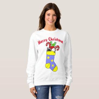 Christmas Stocking Merry Christmas Sweatshirt