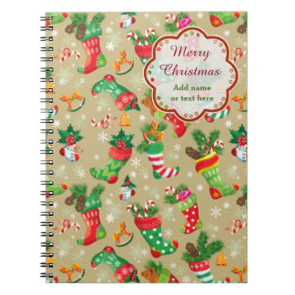 Christmas Stockings and Toys Notebook