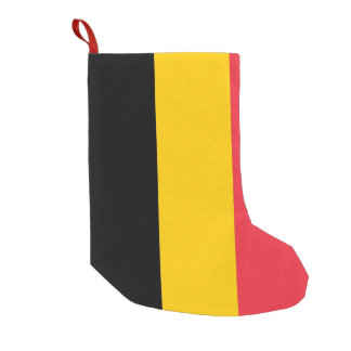 Christmas Stockings with Flag of Belgium