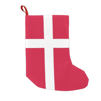 Christmas Stockings with Flag of Denmark