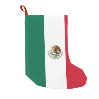 Christmas Stockings with Flag of Mexico