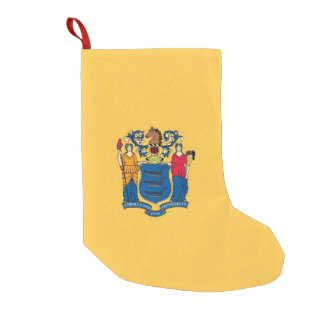 Christmas Stockings with Flag of New Jersey