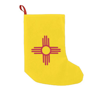 Christmas Stockings with Flag of New Mexico