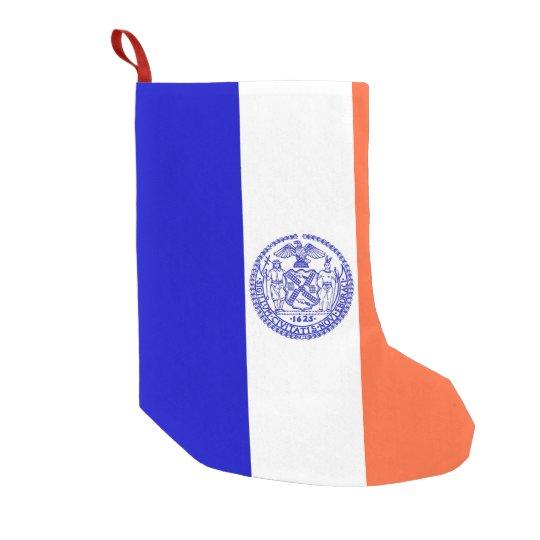 Christmas Stockings with Flag of New York City
