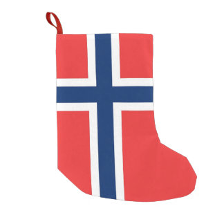 Christmas Stockings with Flag of Norway