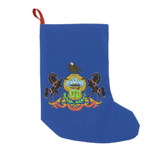 Christmas Stockings with Flag of Pennsylvania