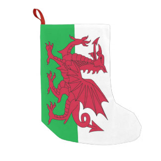 Christmas Stockings with Flag of Wales