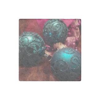 Christmas Stone Magnet