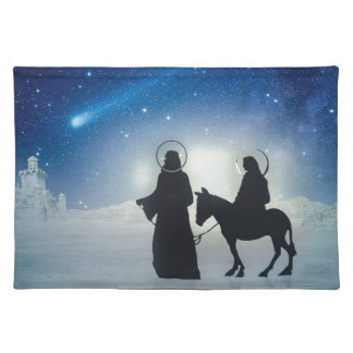 Christmas story Mary and Jesus Placemat