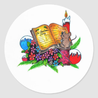 Christmas Story Sticker