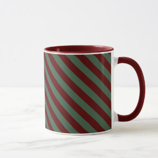 Christmas Stripes Mug