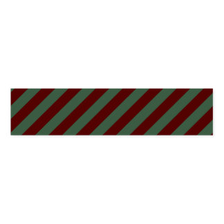 Christmas Stripes Napkin Band