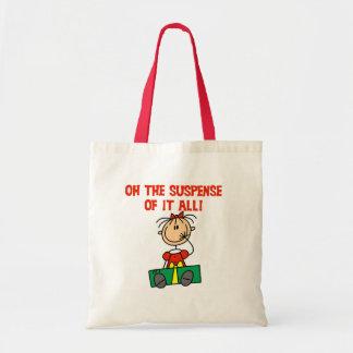 Christmas Suspense Budget Tote Bag