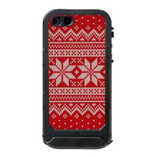 Christmas Sweater Knitting Pattern - RED Incipio ATLAS ID™ iPhone 5 Case