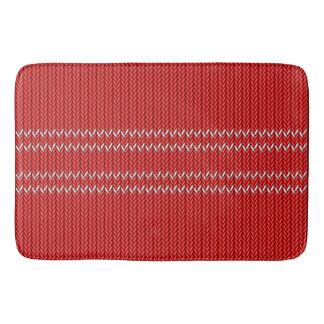 Christmas Sweater Pattern Bath Mat