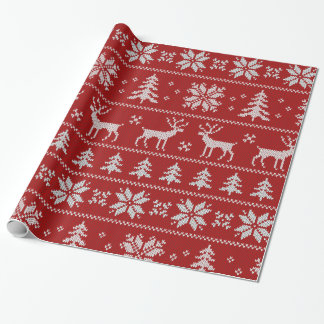 Christmas Sweater Wrapping Paper