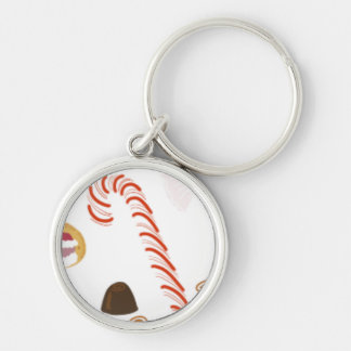 Christmas Sweeties Candies, Peppermints Candy Cane Key Ring