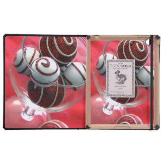 Christmas Swirls iPad Covers