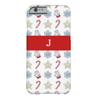 Christmas Symbols Barely There iPhone 6 Case