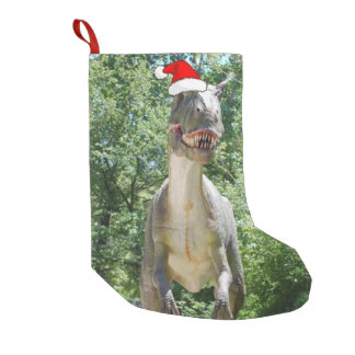Christmas T-Rex Small Christmas Stocking