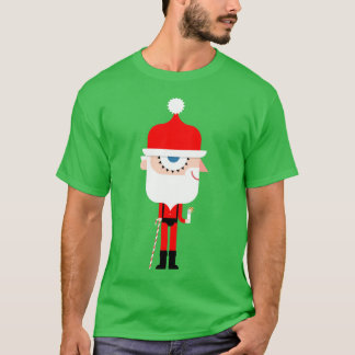 Christmas T-shirt: Clockwork Santa T-Shirt