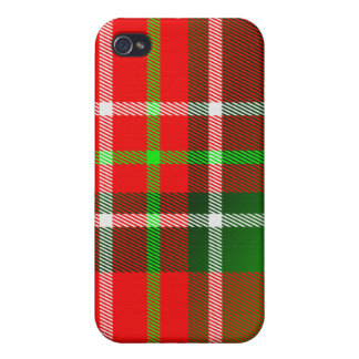 Christmas Tartan  iPhone 4/4S Cases