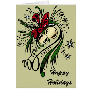 Christmas Tattoo card
