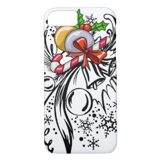 Christmas Tattoo iPhone 8/7 Case