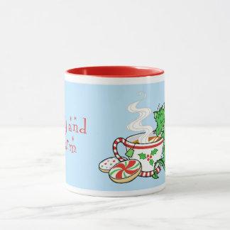 Christmas Tea Dragon mug