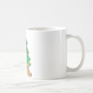 Christmas Teddy Bear Coffee Mug