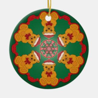 Christmas Teddy Bear Ornament