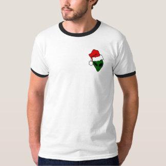 Christmas tee-shirt with black edge T-Shirt