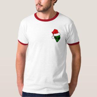 Christmas tee-shirt with red edge T-Shirt