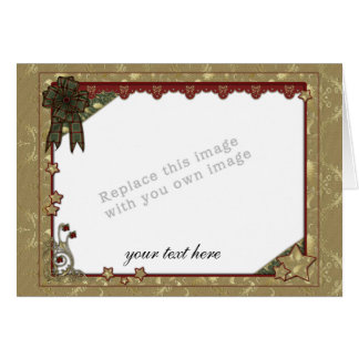 Christmas Template Greeting Card