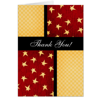 Christmas Thank You Card: Funky Chic Collection Card