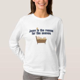 Christmas Theme Baby Jesus Star T-Shirt