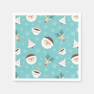 Christmas Theme Napkins Disposable Napkin