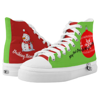 Christmas Themed High Tops